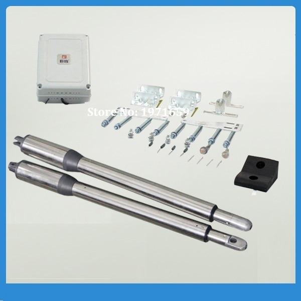 все цены на Electric Linear automatic swing gate motor +extra free 1pcs photocell /beam sensor for access control онлайн