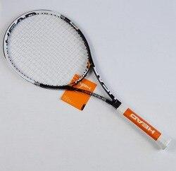Raquetes de tênis masculino raquete de tênis raquete de tênis de fibra de carbono de Material de corda