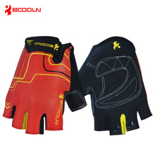 BOODUN Unisex Breathable Half Finger Cycling Bike Gloves Road Mountain Bicycle Gloves Outdoor Sports Gym Fitness MTB Gloves цена