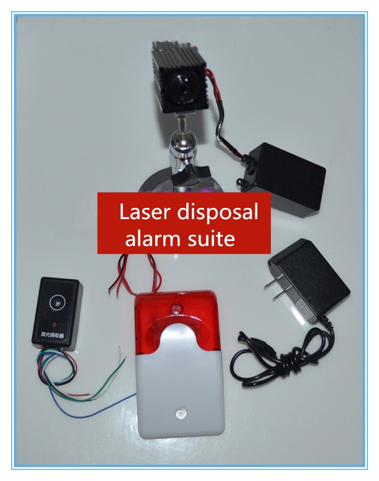 Real life Room Escape Laser warning kit. Escape from the laser array Live secret room escape game props