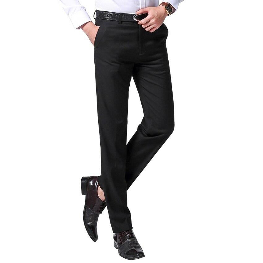 2017 New Autumn Fashion Men Suit Pants Long Trousers Slim ...