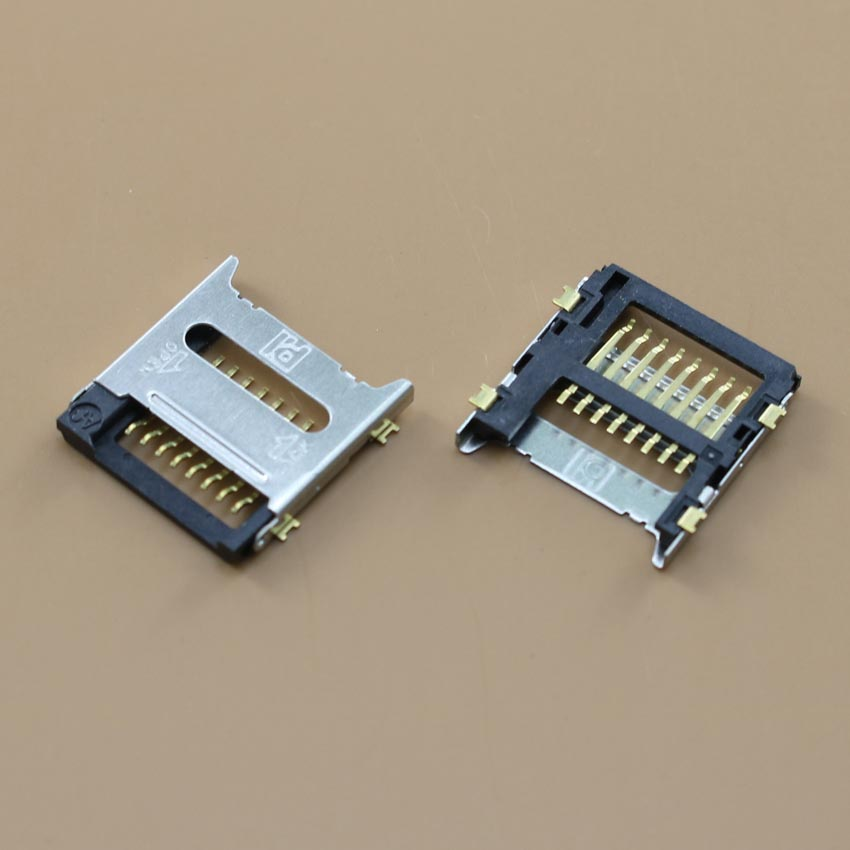 YuXi Micro SD+TF Card Socket Reader Holder Tray Slot Connector For Flip Phone.