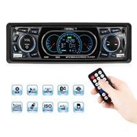 Automobile Bluetooth Multi functional Car MP3 Player FM Radio USB AUX TF Car Player (Black)