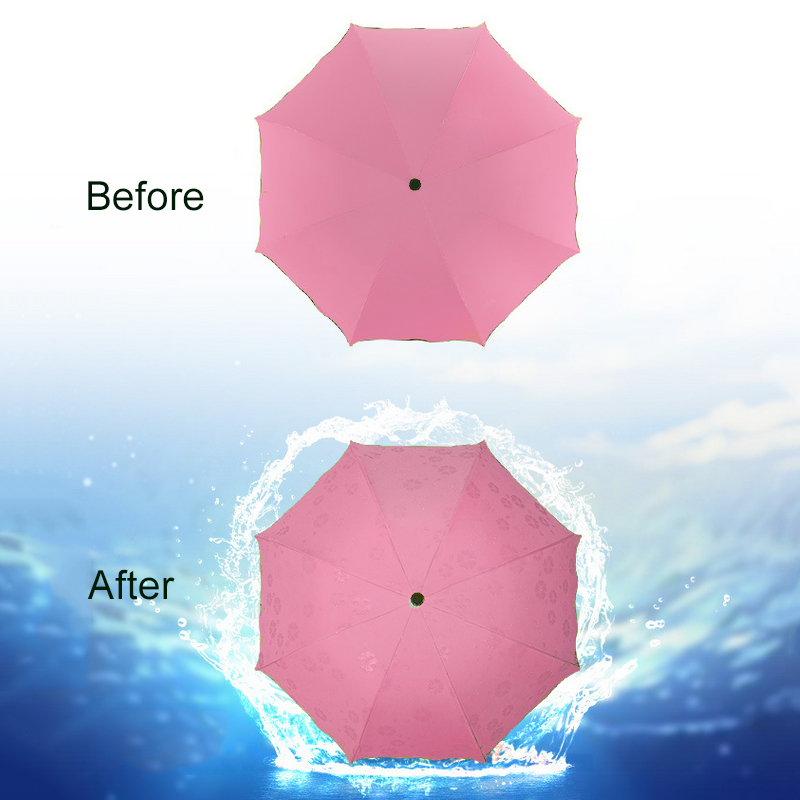 portable sun rain umbrella 3 folding umbrellas protection. Black Bedroom Furniture Sets. Home Design Ideas