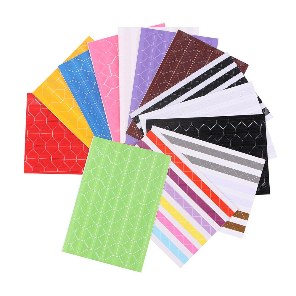 10 листов (1020 шт) самоклеющиеся ПВХ наклейки фото угловые наклейки для скрапбукинга бумажные наклейки фотоальбомы рамка украшение