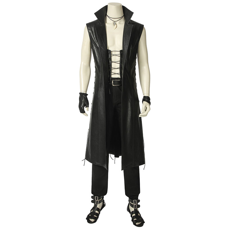The new COSPLAY, the super power of Devil May Cry, a super handsome costume, the absolute choice of cosplay display.