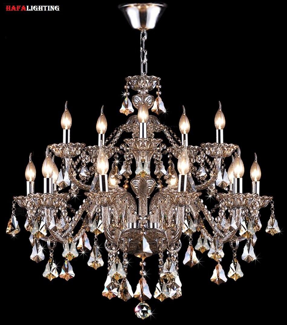 Crystal Linear Chandelier PromotionShop For Promotional Crystal - Dining room crystal lighting