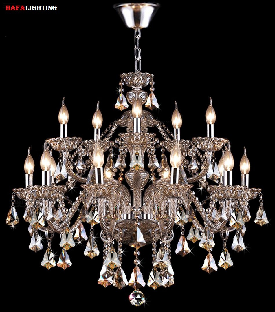 Modern crystal light chandelier lighting top k9 crystal for Popular dining room chandeliers