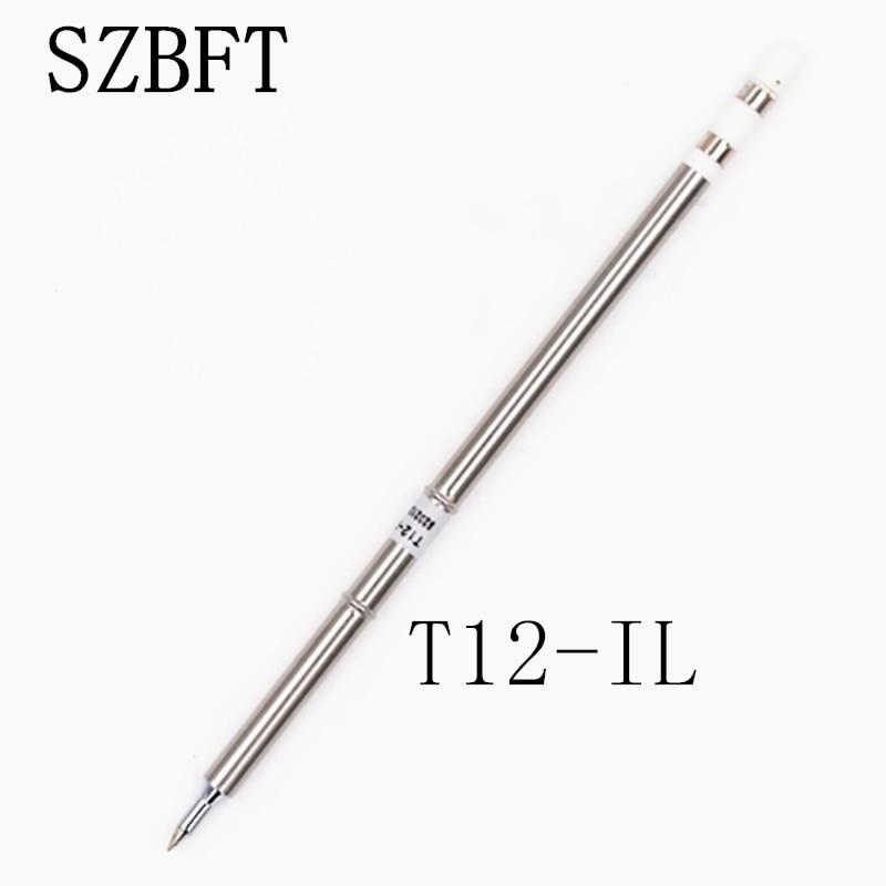 Puntas de hierro para soldar BZBFT T12 Punta de hierro de la serie T12 T12-IL Para estación de soldadura OLED Hakko FX951 STC y STM32