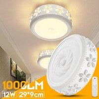 12W 6000K LED Ceiling Down Light Flush Mount Light Fixture Bathroom Study Living Room Lamp White/Warm White Indoor Lighting ceiling fixture
