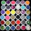 36 color  Glitter Mix Color UV Builder Gel Acrylic Set for Nail Art Tips Na1013-36-1