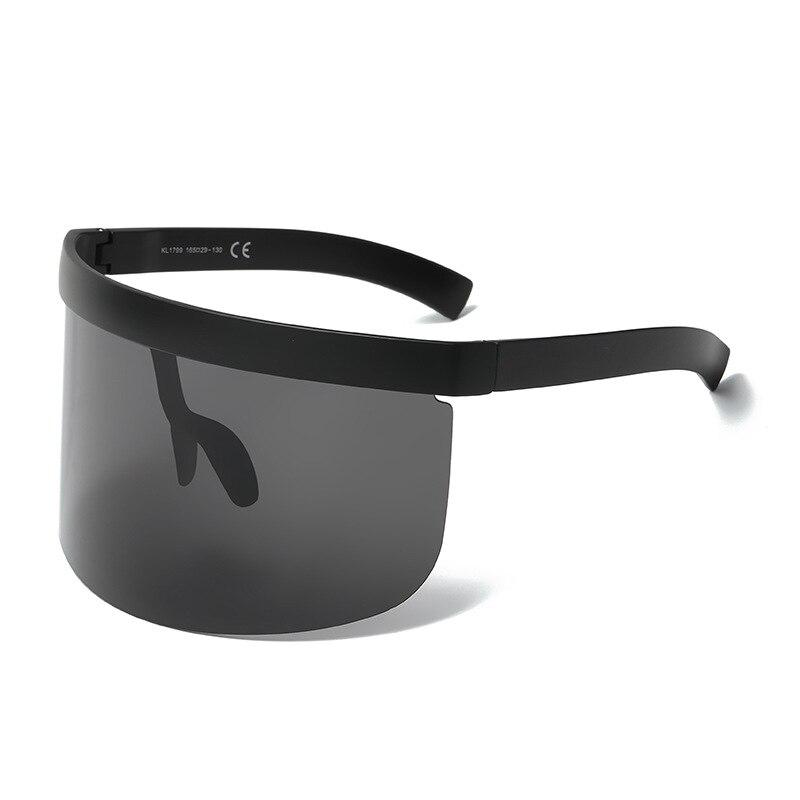 Cerca Voli Vintage Retro Scudo Visiera Maschera Occhiali Da Sole Delle Donne Degli Uomini Di Grandi Dimensioni Antivento Occhiali Di Un Pezzo Grande Cornice Occhiali Occhiali Da Sole Occhiali Fresco In Estate E Caldo In Inverno