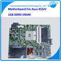 Материнской Платы ноутбука для ASUS K52JV K52JR REV: 2.0 Ноутбук GT 540 М с 1 ГБ ВИДЕОПАМЯТИ DDR3 100% Рабочих Mainboard