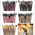 Pro 22 Pcs Makeup Brushes Set Powder Foundation Eyeshadow Eyeliner Eyebrow Lip Cosmetic Makeup Brushes Beauty Maquiagem