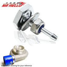New Turbo Boost Pressure Quick Tap Fitting Kit / Pressure Source on Silicon Hose стоимость