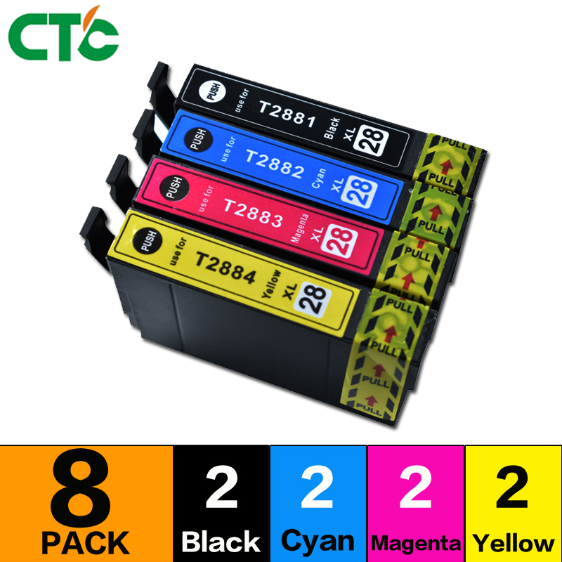 8Pack Compatible T2881 T2885 XL ink cartridge for Expression Home XP 330 XP330 XP-330 Printer
