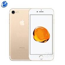 Apple iPhone 7 32 GB/128 GB 4G LTE iphone7 мобильный телефон IOS четырехъядерный мобильный телефон 4,7 ''12,0 MP отпечатков пальцев Смартфон
