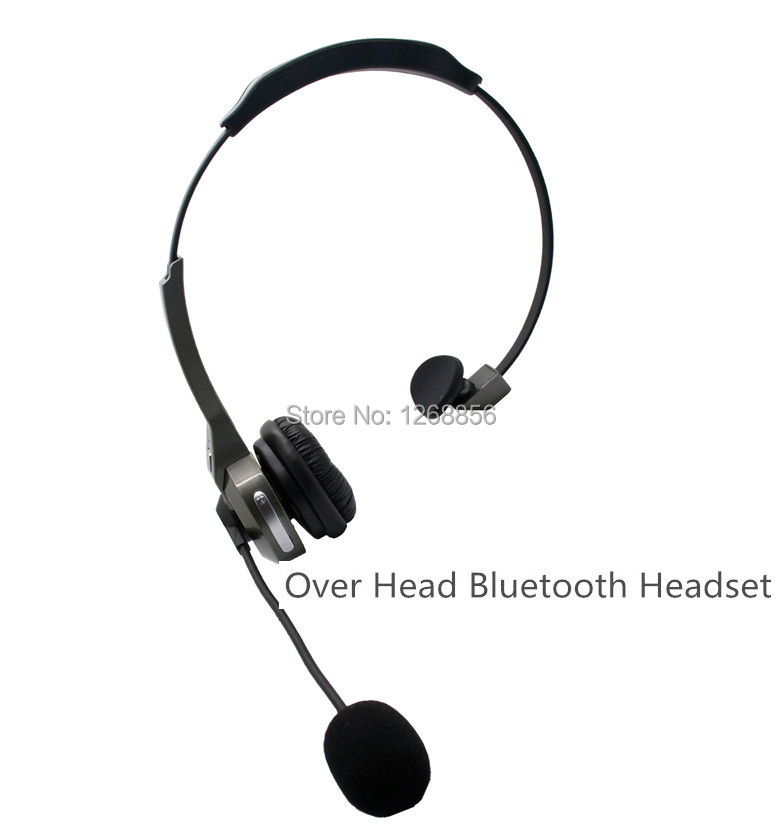 ФОТО 2 pcs/lot New Overhead Bluetooth headset Handsfree earphone Headphone for smartphones, Free shipping