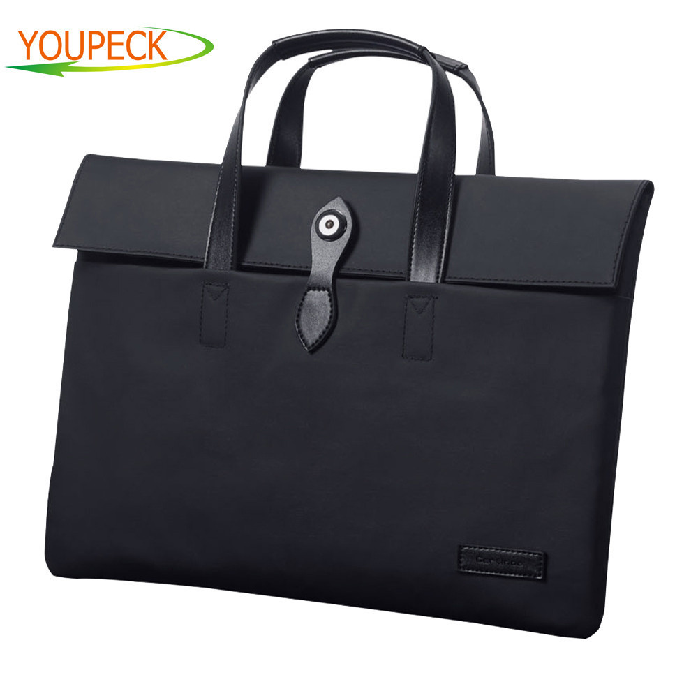 Business Laptop Sleeve Bag for Macbook air pro 11 12 13 14 15 15.6 inch Notebook bag For Men Woman for Macbook Touchbar 13 15 women ladies handbag for 14 15 inch laptop bag notebook bag business office briefcase for macbook touchbar 15 pro carrying case