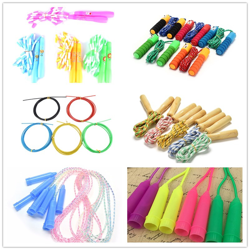2/2.4/2.5/2.6/3M Professional Steel Wire/PVC/Polyester Skipping Skip Adjustable Jump Rope Crossfit Fitnesss Equimpment Exercise