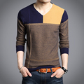 2016 winter men's sweater Korean version of the long-sleeved round neck long-sleeved sweater plus small code M-2XL