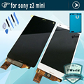 For Sony for Xperia Z3 compact LCD Display Z3 mini LCD D5803 D5833 touch screen digitizer Assembly + Adhesive + Tools