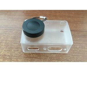 Image 2 - Chống Thấm Nước Bảo Vệ Vỏ Trong Suốt Siêu Mỏng Ốp Lưng Có Nắp Ống Kính Dành Cho Xiaomi Yi 4K Camera Hành Động 2 II Phụ Kiện