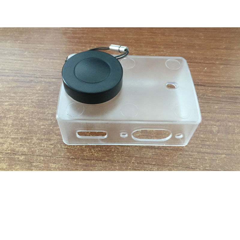 Image 2 - Waterproof Protective shell Transparent Ultrathin Case With Lens Cap Cover For Xiaomi Yi 4K Action Camera 2 II Accessories