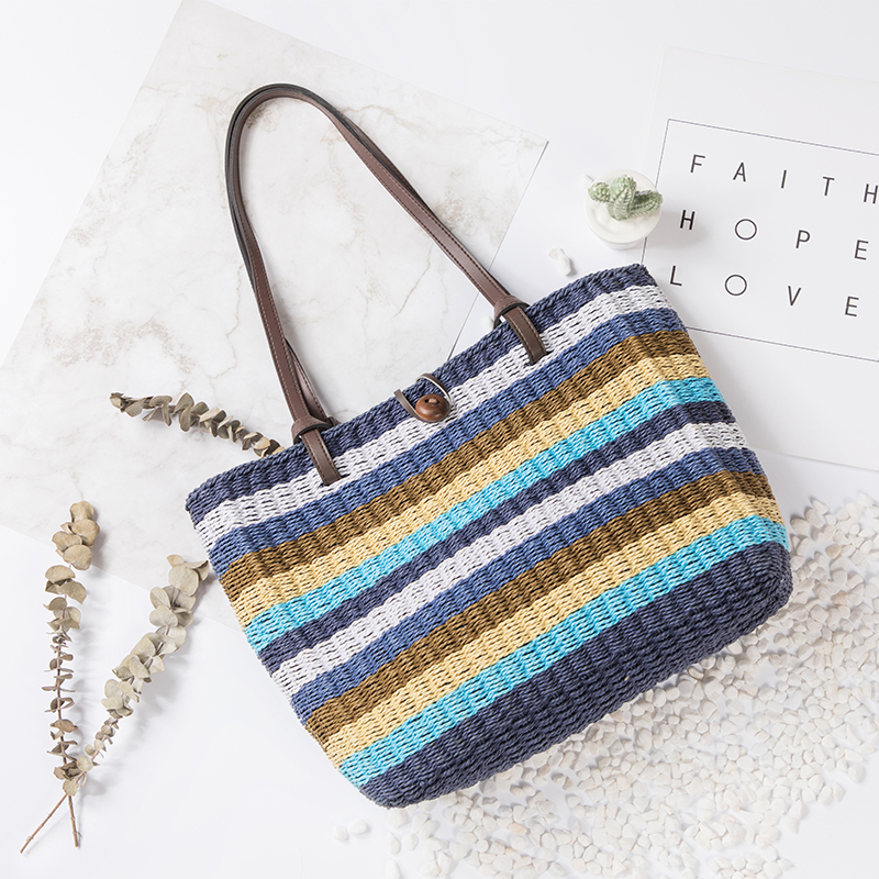 Women beach bag Straw bag