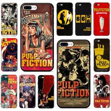 Pulp Fiction Move poster Soft TPU Silicone phone Cover case for iPhone 5 5S 6 6s 7 8 plus X XR XS 11 Pro Max(China)
