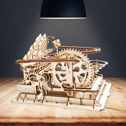 waterwheel coaster forma 3d pintura puzzle diy