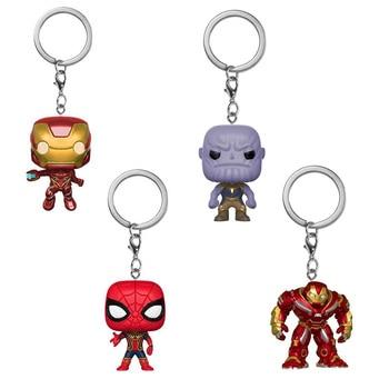 Фигурки брелок Marvel Мстители Бесконечная война