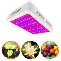 1000 Вт растет лампы AC85 265 В полный спектр двойные чипы светодио дный светать для комнатных растений здорового роста цветения