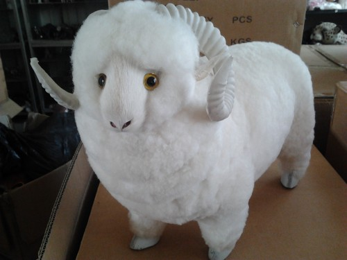 simulation white sheep model toy lifelike large sheep 37x30cm hard model,home decoration gift t205 simulation animal large 30x25 cm lovely cat model lifelike white cat with long tail decoration gift t474