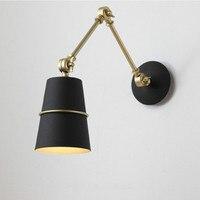 Eusolis современный настенный светильник дизайн Nordic лампа аппликация Murale Luxueuse настольная лампа для кровати промышленный дизайн