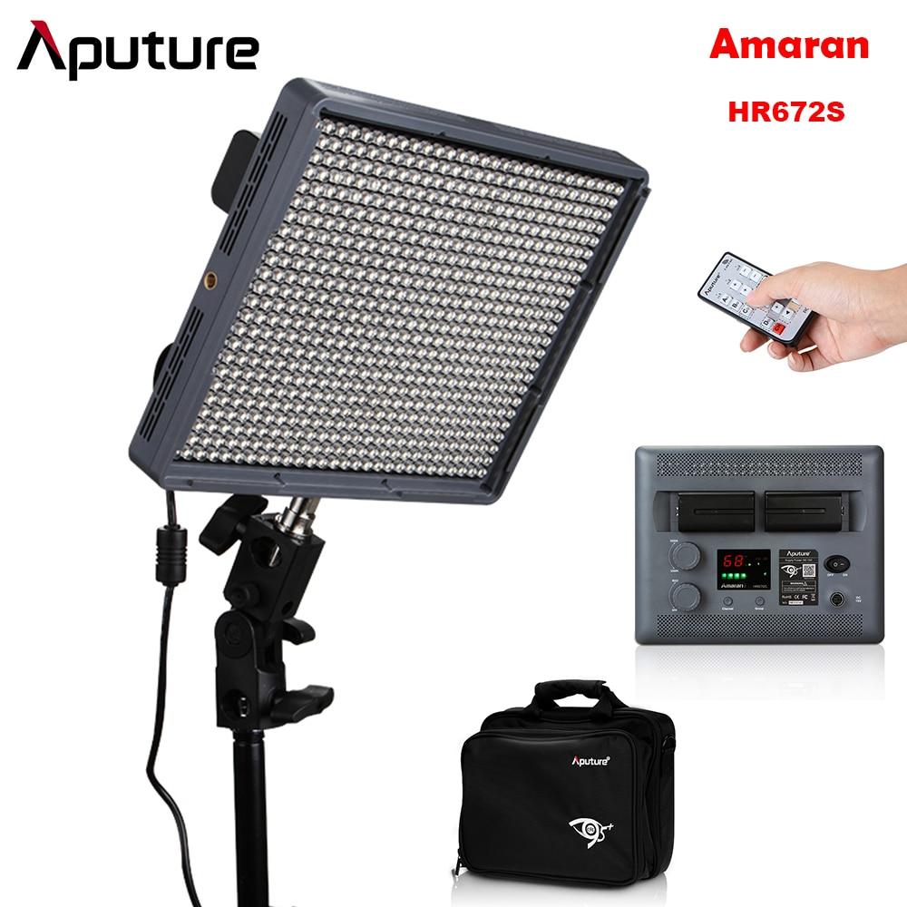 Aputure Amaran HR672S High CRI95 672pcs LED Photography Spotlight Video Spot Light 2 4G Wireless Remote