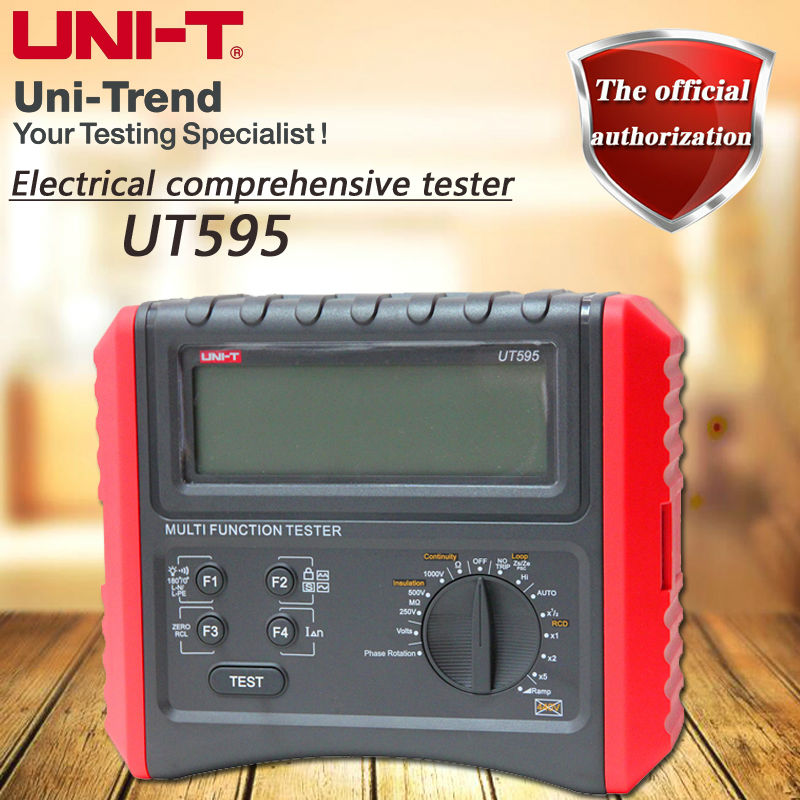 UNI T UT595 Electrical Integrated Tester Digital Multifunction Electrical Safety Integrated Test Instrument