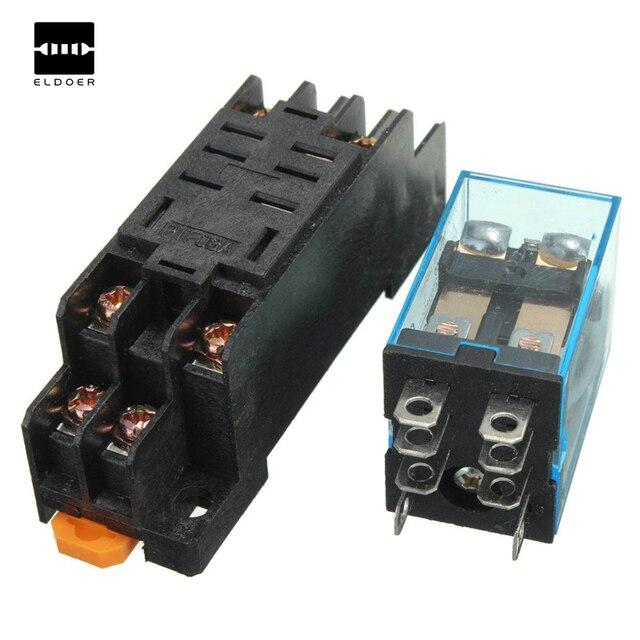 New Arrival10pcs Coil Power Relay Ly2nj 12v Dc Dpdt 8 Pin Hh62p Jqx