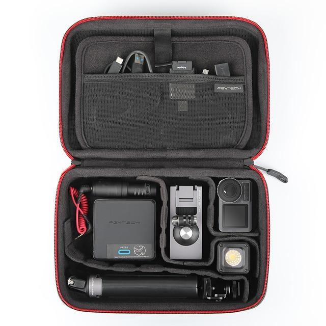 PGYTECH DJI OSMO Camera Hành Động Xách Chống Thấm Nước Di Động Túi Hộp Bảo Quản cho DJI OSMO Hành Động Phụ Kiện