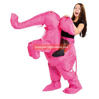 Animal Funny Elephant Party Blow Up Inflatable Costume Suit Adult Fancy Dress Christmas Cosplay Helloween Outfit