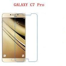 Atacado Vidro Temperado protetor de tela do telefone para Samsung Galaxy C7 PRO C7010