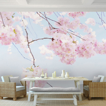 Cherry blossom wall mural online shopping the world for Cherry blossom wallpaper mural