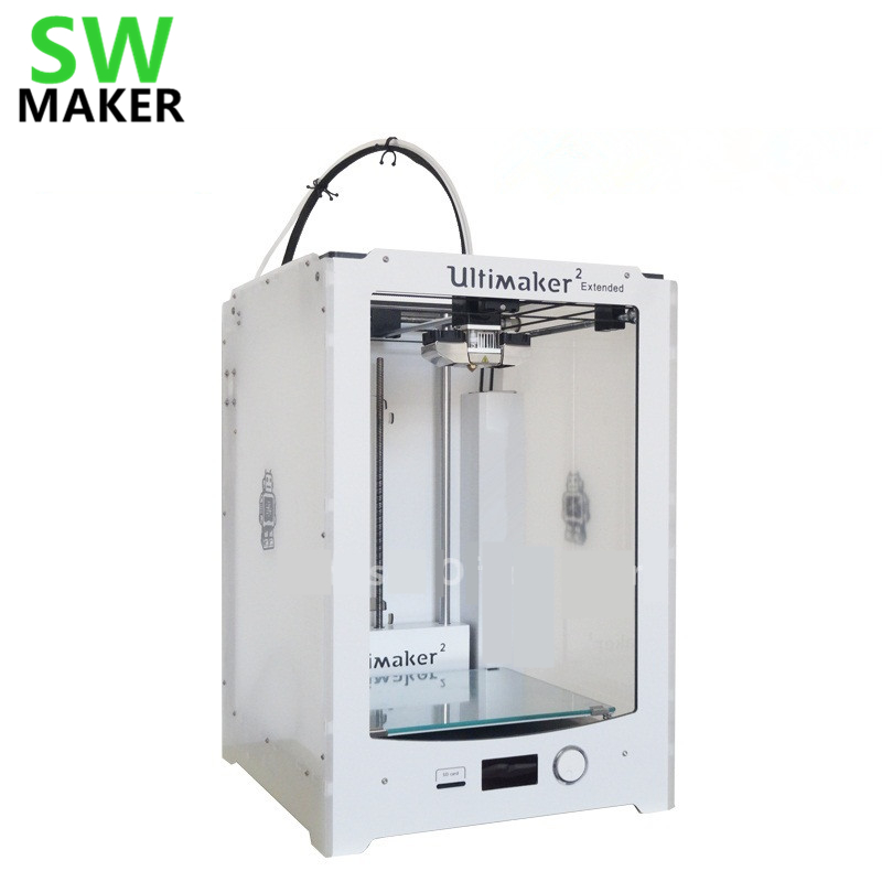 SWMAKER Ultimaker2 Extended+ higher version 3D printer Working Aread 223x223x205mm Not Assembled midnight delight new extended version cd