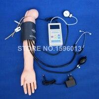 진보된 혈압 훈련 팔 시뮬레이터  korotkoff 격차를 가진 bp 팔 모형을 표시하는 lcd