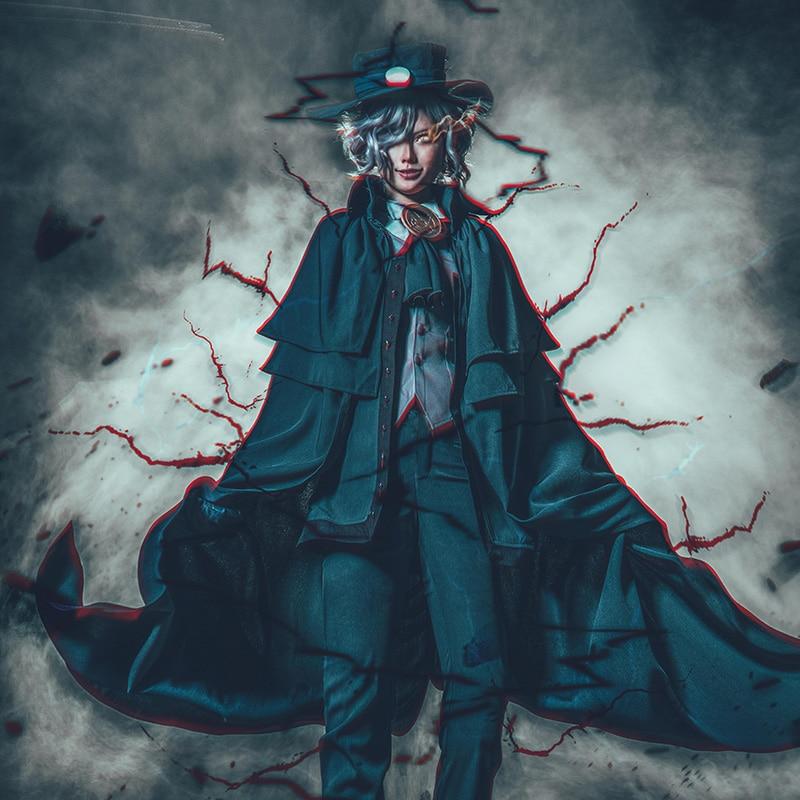 Fate Grand Order FGO Monte Cristo Edmond Dantes Avenger Cosplay Costume With Cloak COSPLAYONSEN Full Set