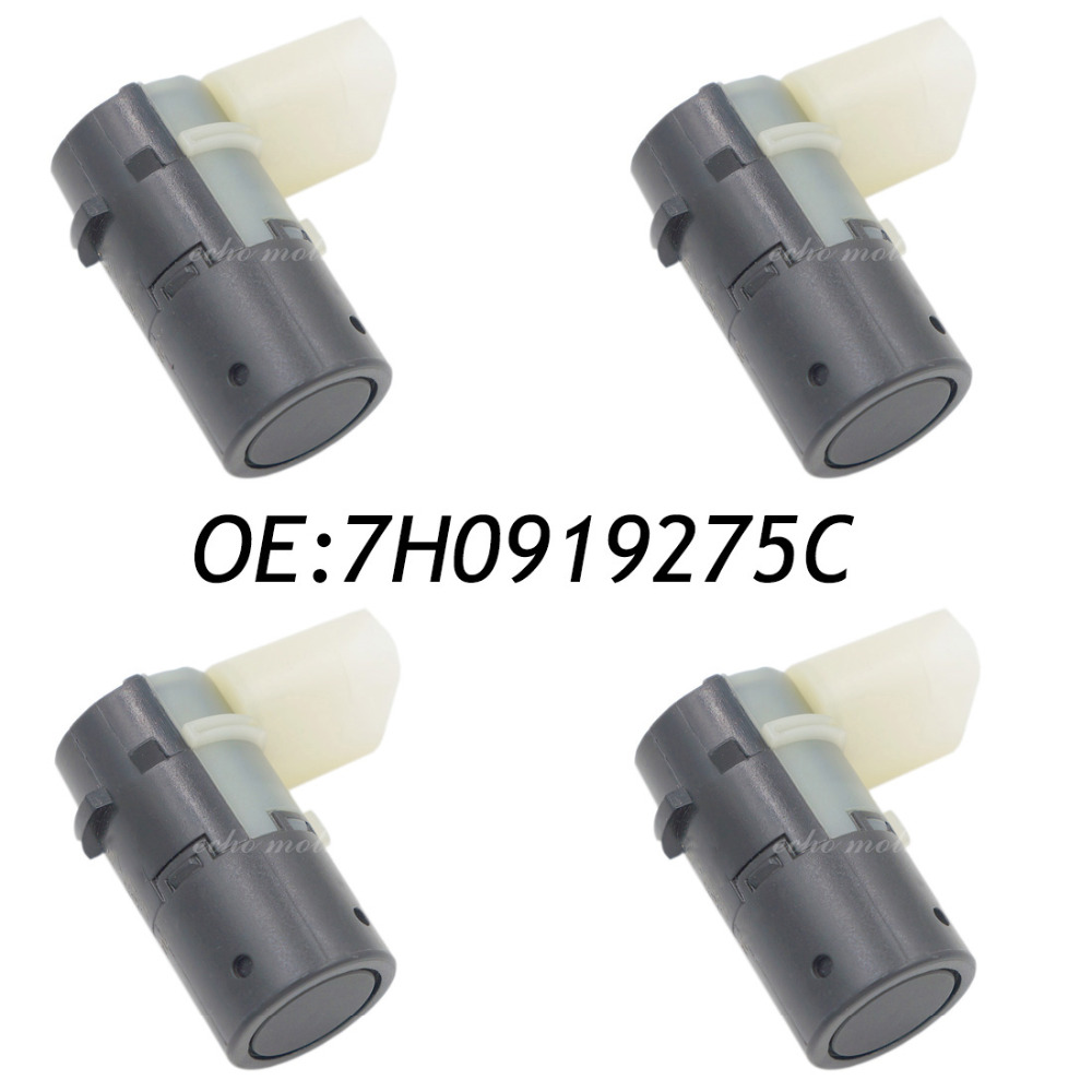 New 4pcs PDC Parking Sensor For Audi A4 A6 A8 VW T5 Polo Skoda Octavia 7H0919275C 4B0919275E 7H0919275 park pilot parking front and rear 8 sensors update 8k pdc ops for skoda mqb octavia