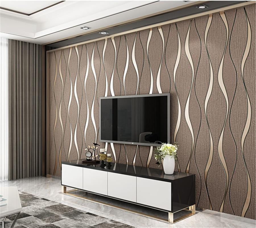 US $44.02 38% OFF|Beibehang Moderne hohe qualität Tapete rolle 3D  hirschleder vlies tapete wohnzimmer schlafzimmer couch TV hintergrund wand  papier ...