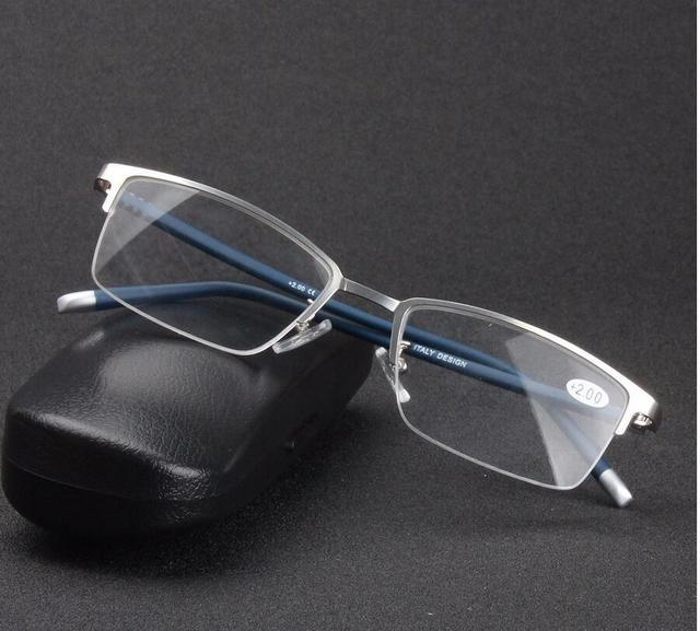a619ce21845a High quality German design Clear Frame Reading Glasses Women Men Eyewear  gafas de lectura oculos de grau Presbyopic Glasses-in Reading Glasses from  Apparel ...