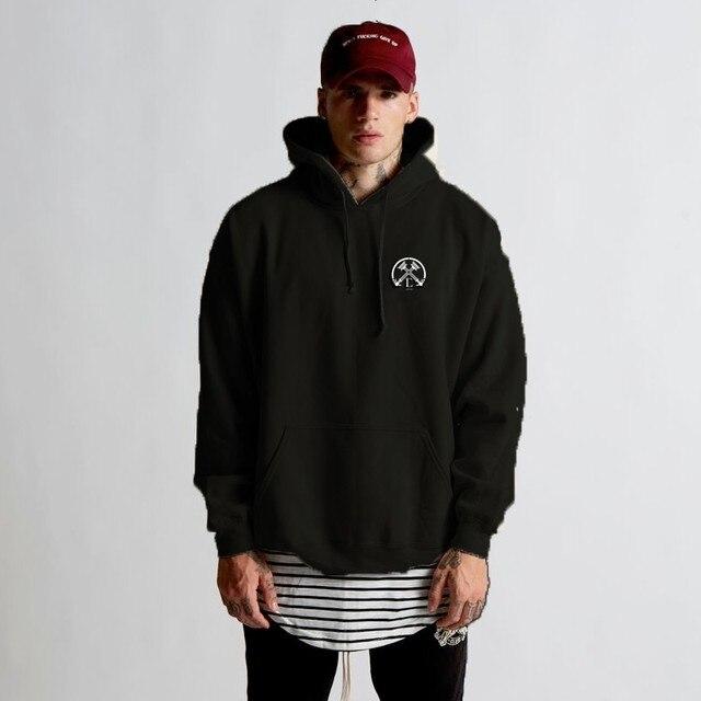 2018 New Fashion Brand Male Winter Camo Color Hooded Sweatshirt Mens Hoodie Tracksuit Sweat Coat Casual Sportswear 1