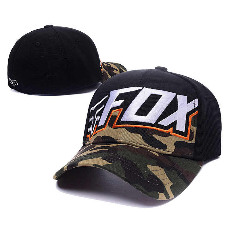 2c1898800a2fa ... Fashion Fox Baseball Cap Women Men Motor Sports Snapback Hat Unisex  Cartoon Pattern Embroidery Caps Hip ...